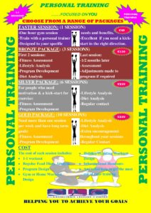 Personal Training Package- poster )